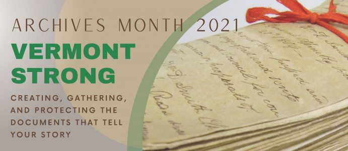 Vermont Archives Month
